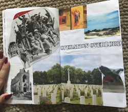 Shayda's Normandy Scrapbook
