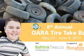 OARA Tire Take Back 2017