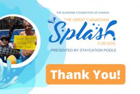 Thank You Splash For Kids 2021